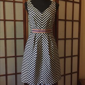 Lovely quality striped dress
